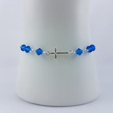 Bracelet croix argent 925...