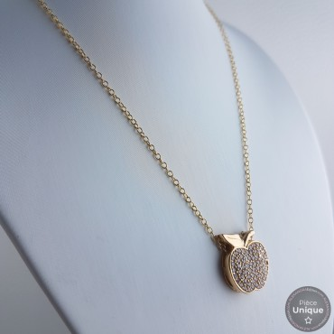 Collier Pomme Gold Filled