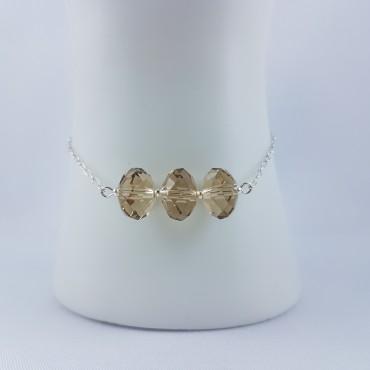 Bracelet Argent 925 Perles...