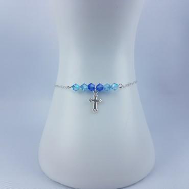 Bracelet Argent 925 croix...