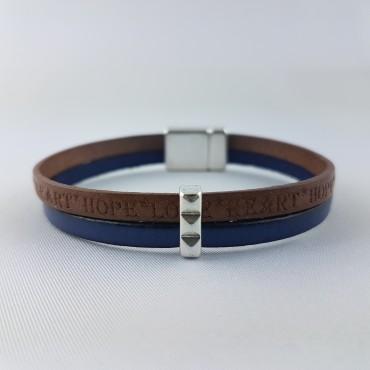 Bracelet Double Homme